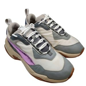PUMA Thunder Electric Running Sneakers Grey Pink